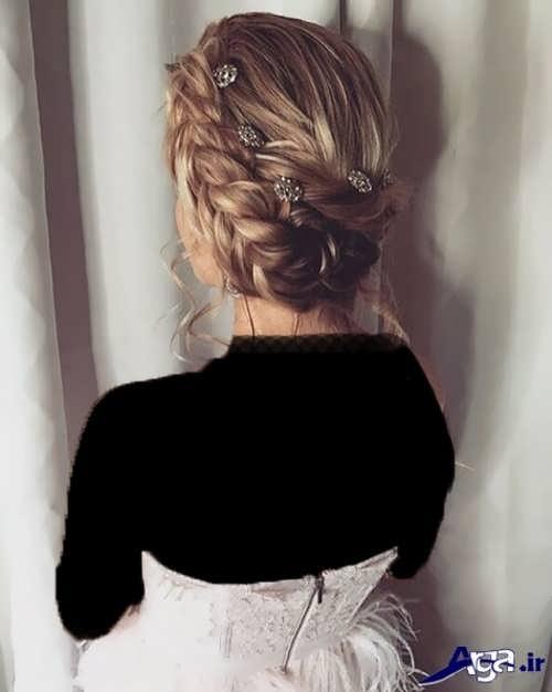 مدل آرایش موی زیبا عروس