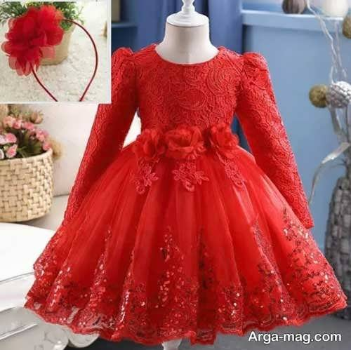 مدل لباس گیپور بچه گانه شیک