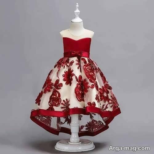 مدل لباس گیپور بچگانه زیبا