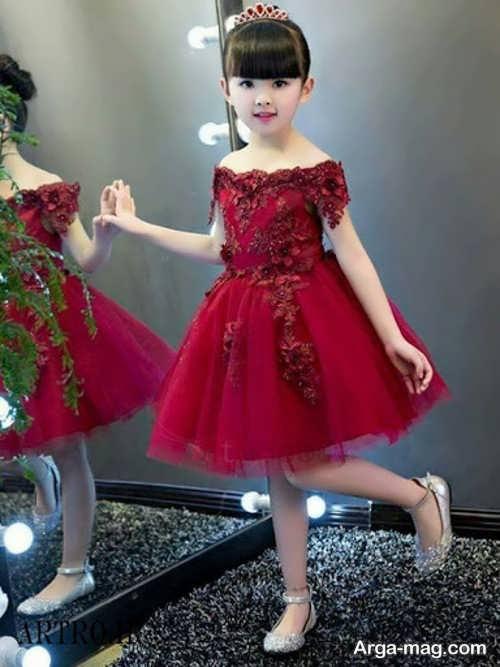 مدل لباس گیپور بچه گانه جذاب