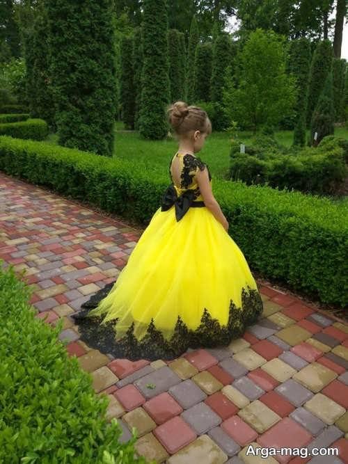انواع مدل لباس گیپوردار بچگانه