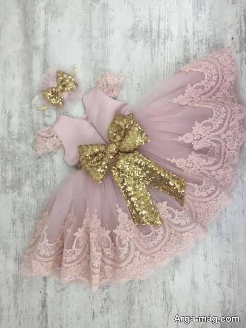 مدل زیبای لباس گیپوردار بچگانه