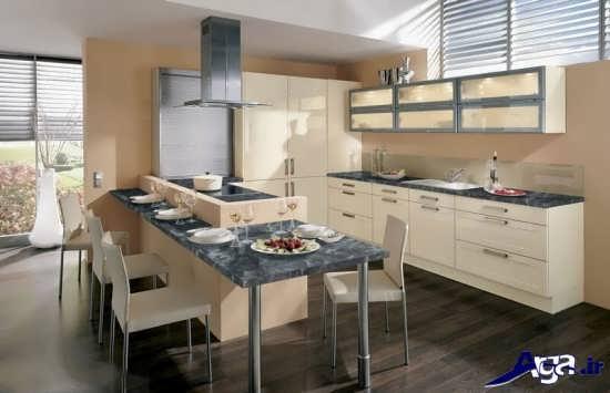 رنگ برای آشپزخانه های کوچک