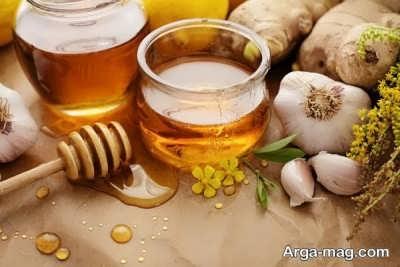 روش های بهبود سرفه با عسل