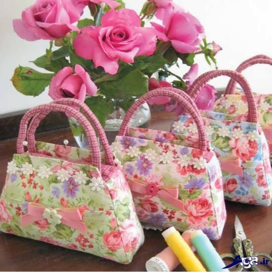 ساخت کیف پارچه ایی زیبا و خلاقانه
