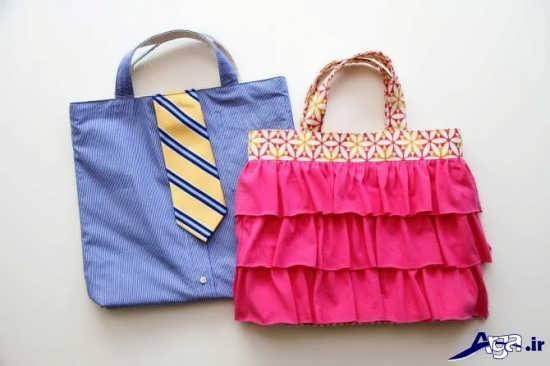 ساخت انواع کیف دستی با پارچه