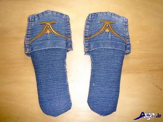 ساخت کفش رو فرشی با پارچه