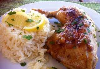 طرز تهیه مرغ یونانی