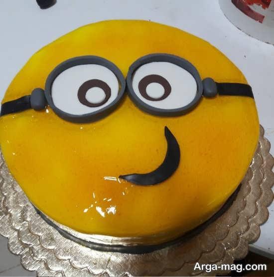 تصاویری از تزیینات کیک تولد کودک