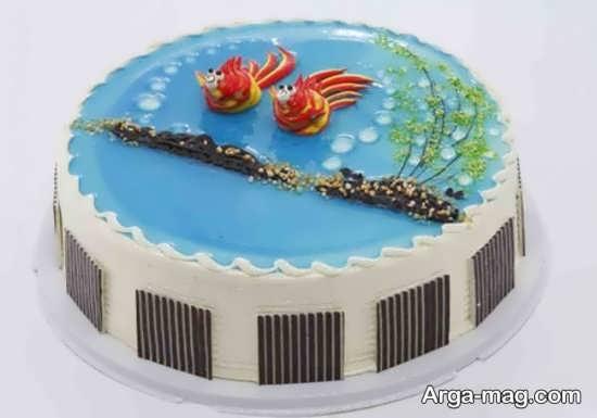 ایده تزیین کیک تولد کودک