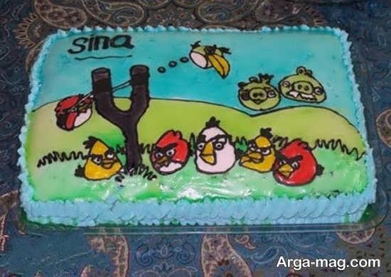 مدل تزیین کیک تولد کودک
