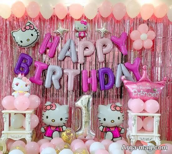جدیدترین تزیین جشن تولد یک سالگی