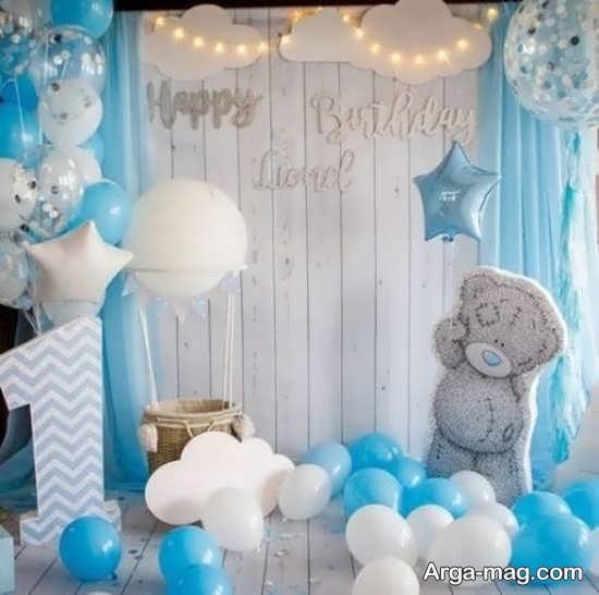 تزیینات شیک جشن تولد مناسب یک سالگی