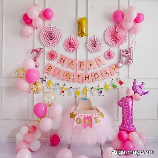 تزیینات ایده آل جشن تولد مناسب یک سالگی