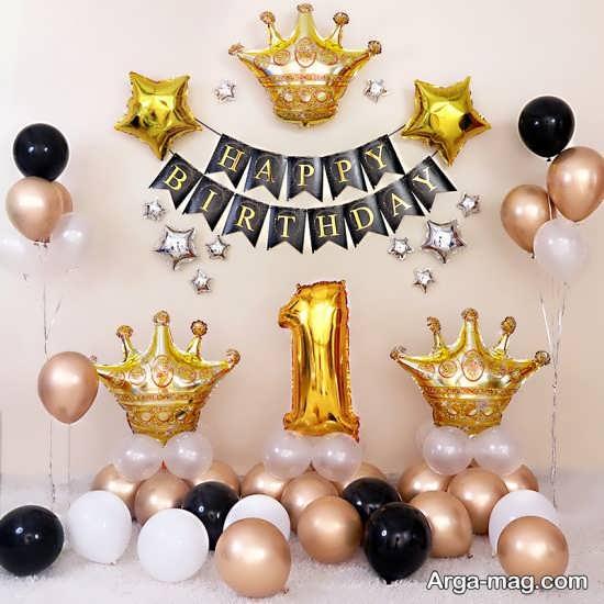 تزیینات فوق العاده جشن تولد مناسب یک سالگی