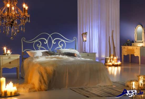 تزیین اتاق خواب عروس جدید و شیک