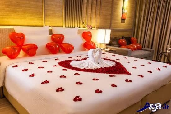 تزیین اتاق خواب برای عروس و داماد
