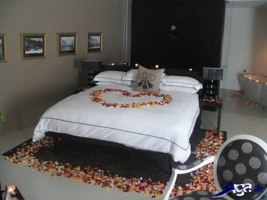 تزیین تختخواب عروس و داماد