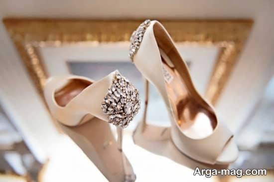 انواع تزیینات کفش عروس