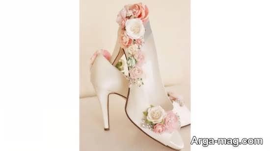 تزیینات کفش عروس