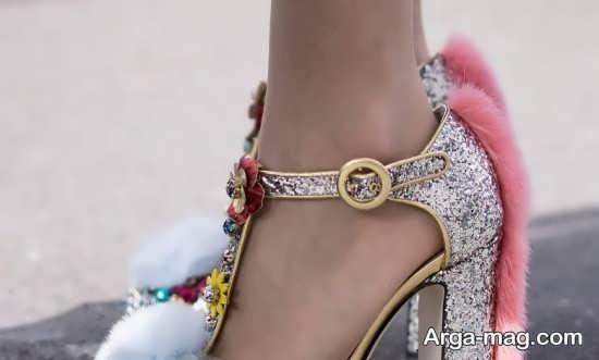 ایده تزیینات کفش عروس