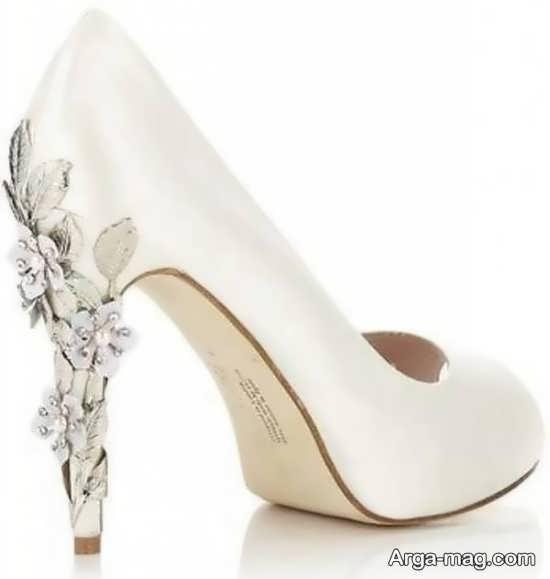 تزیین کفش عروس شیک