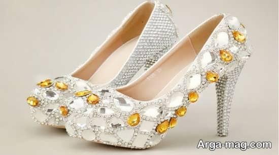 تزیینات کفش عروس شکیل