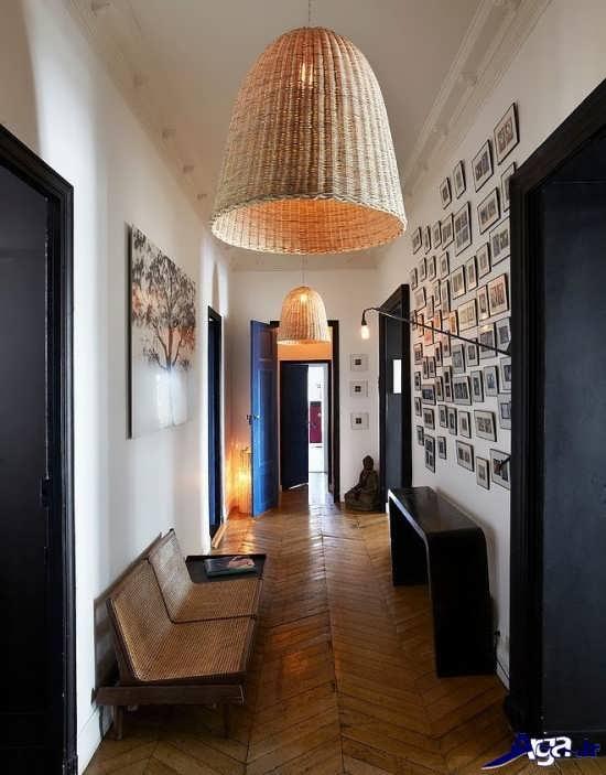دیزاین راهروی منزل با ایده خلاقانه