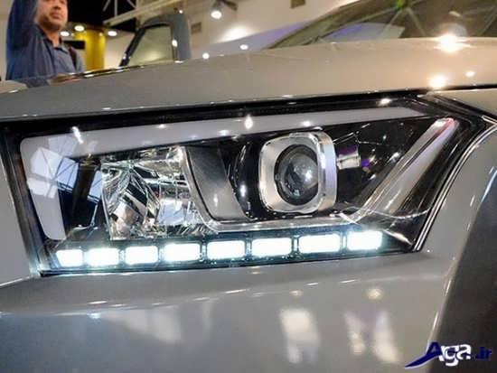 تصاویر زیبای خودروی دنا پلاس