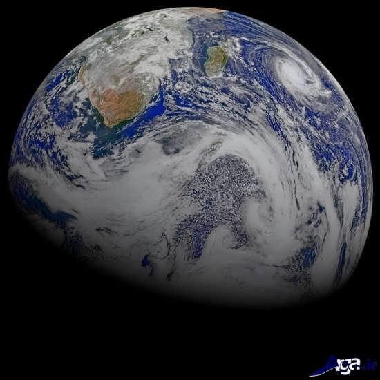 تصاویر زمین از فضا در بالای اقیانوس هند