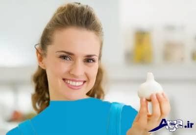 درمان جوش با سیر