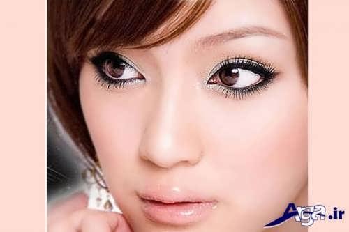 آموزش آرایش چشم پف دار