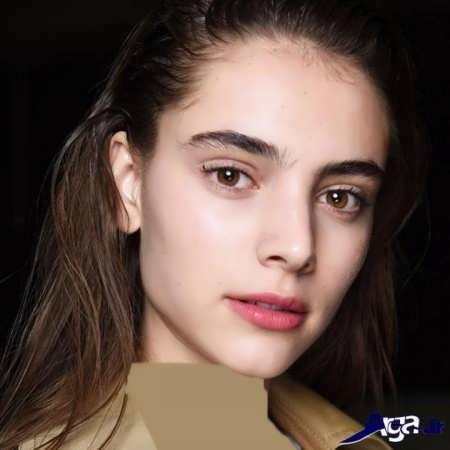 مدل ابرو دخترانه پهن 96