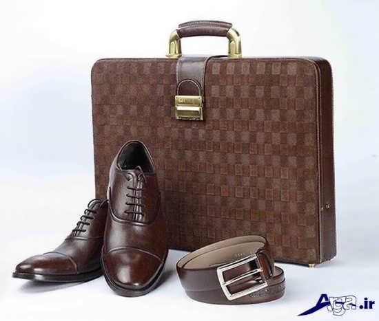 ست کیف و کفش مردانه