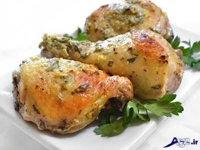 طرز تهیه مرغ به روش یونانی