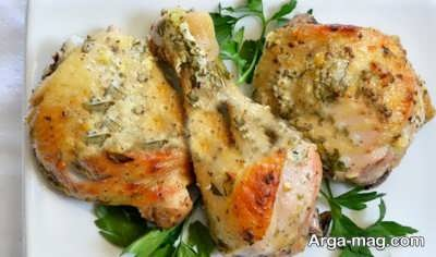 آموزش تهیه مرغ یونانی