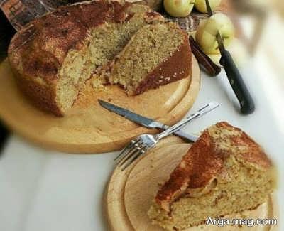 مراحل تهیه کیک میوه ای بدون فر