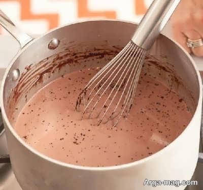 روش تهیه بستنی شکلاتی