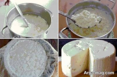 روش تهیه پنیر تبریزی لیقوان