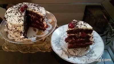 روش تهیه کیک گیلاس