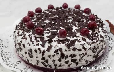 نحوه تهیه کیک گیلاس