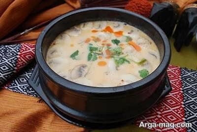 روش تهیه سوپ قارچ و خامه