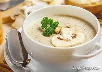 دستور تهیه سوپ قارچ و خامه