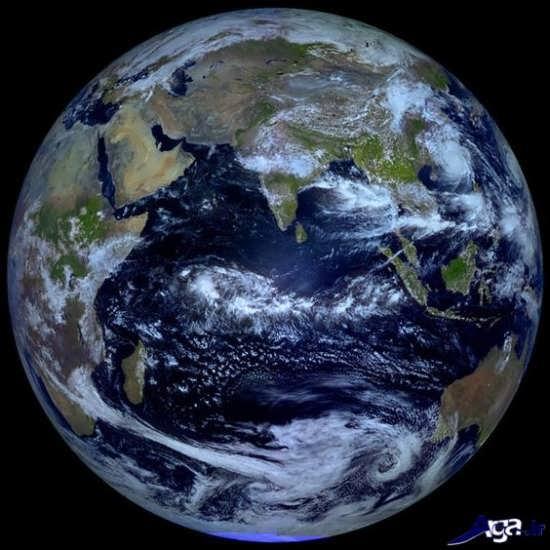 تصاویر زمین از فضا با فضاپیمای روسیه