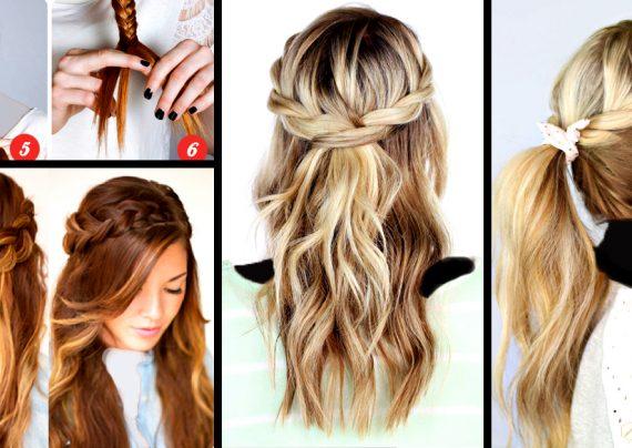 آموزش بافت موی بلند به صورت تصویری و مرحله به مرحله