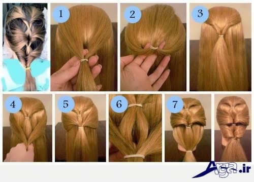 آموزش بافت موی بلند مجلسی