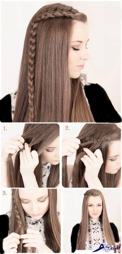 آموزش بافت مو با مدل های متنوع