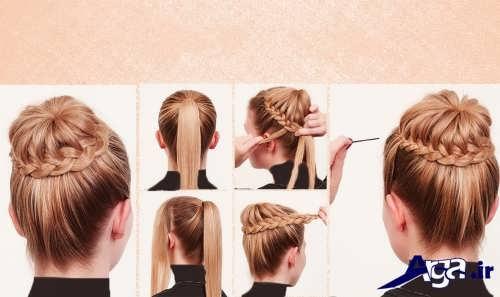آموزش بافت موی زنانه و دخترانه