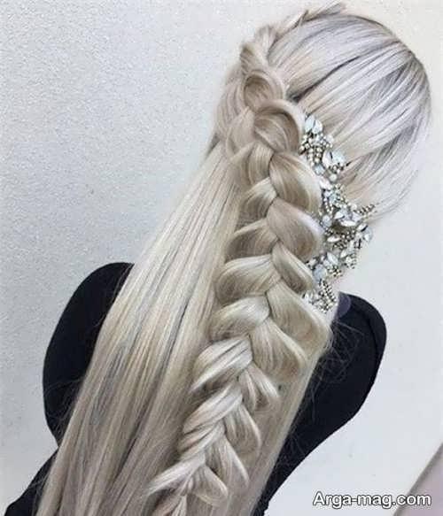 انواع بافت موی بلند