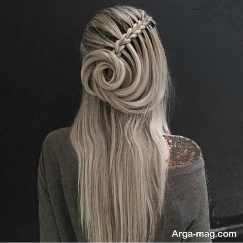 نحوه بافت موی دخترانه بلند